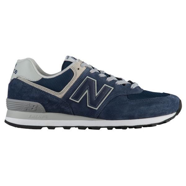 ニューバランス New Balance メンズ ランニング・ウォーキング シューズ・靴 574 Classic Black Iris/Gray/White