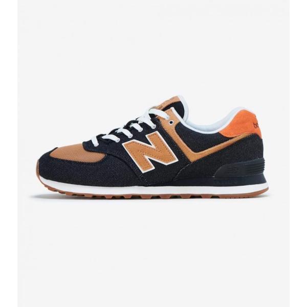 ニューバランス New Balance メンズ ランニング・ウォーキング シューズ・靴 574 Black/Wheat