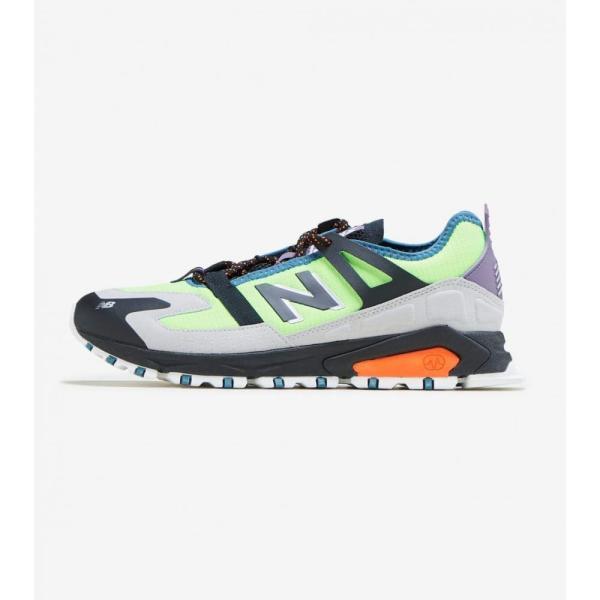 ニューバランス New Balance メンズ ランニング・ウォーキング シューズ・靴 x-racer Lime/Black/Grey