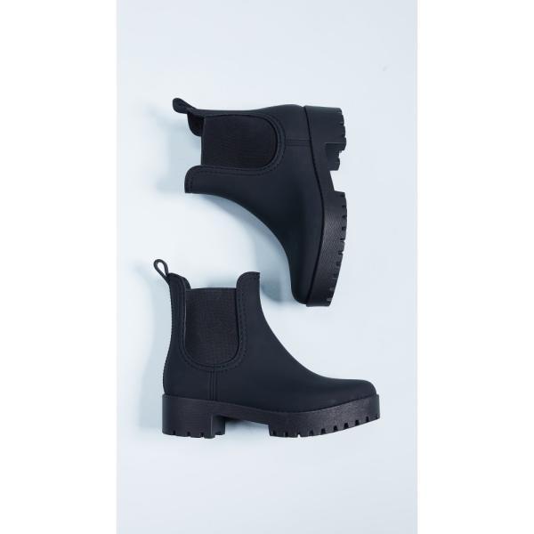 【残り1点!】【サイズ:7】ジェフリー キャンベル Jeffrey Campbell レディース シューズ・靴 レインシューズ・長靴 Cloudy Rain Booties Black