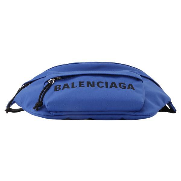 【即納】バレンシアガ Balenciaga ユニセックス ボディバッグ・ウエストポーチ バッグ Wheel Belt Pack BLUE 533009 ベルトバッグ ナイロン|fermart-shoes|04