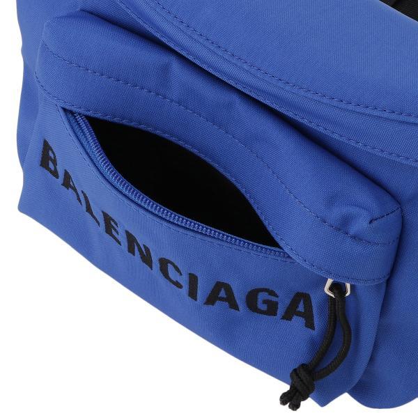 【即納】バレンシアガ Balenciaga ユニセックス ボディバッグ・ウエストポーチ バッグ Wheel Belt Pack BLUE 533009 ベルトバッグ ナイロン|fermart-shoes|05