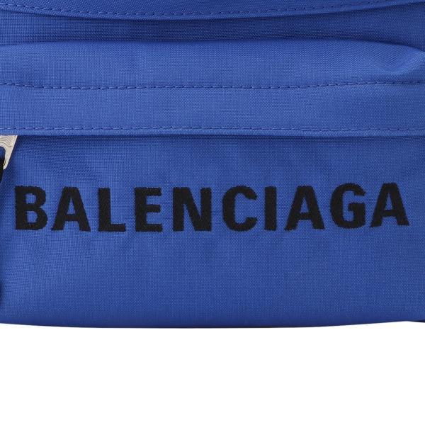 【即納】バレンシアガ Balenciaga ユニセックス ボディバッグ・ウエストポーチ バッグ Wheel Belt Pack BLUE 533009 ベルトバッグ ナイロン|fermart-shoes|06