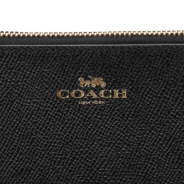 【即納】コーチ Coach レディース ポーチ PVC POUCH IMBLK クロスグレイン コスメティック 化粧 ケース F57857|fermart-shoes|03