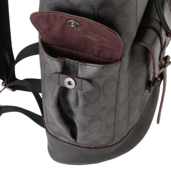 【即納】コーチ Coach メンズ バックパック・リュック バッグ BAG JIO79 シグニチャー シグネチャー ハドソン F50044|fermart-shoes|05