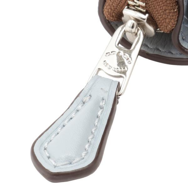 【即納】コーチ Coach レディース 財布 WALLET SVNOQ 3つ折り ラウンドファスナー シグネチャー F41302|fermart-shoes|05