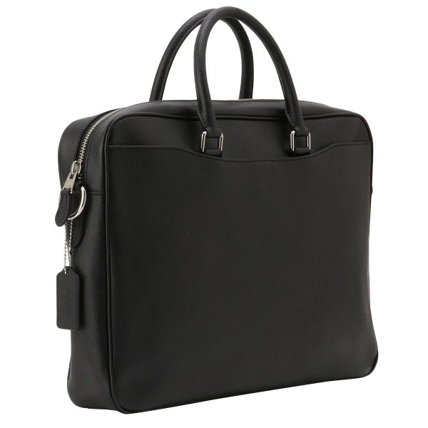 【即納】コーチ Coach メンズ ビジネスバッグ・ブリーフケース バッグ Leather Bag NIBLK 2way 通勤 F68030|fermart-shoes|02