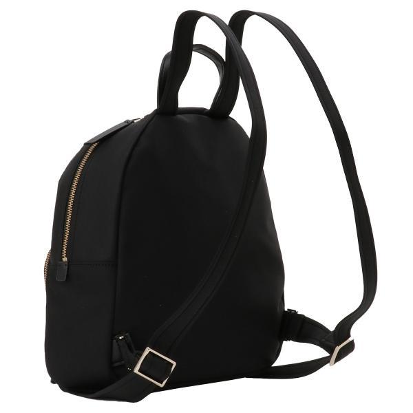 【即納】ケイト スペード Kate spade レディース バックパック・リュック バッグ Dawn Medium Backpack BLACK ロゴ スペード柄裏地|fermart-shoes|02
