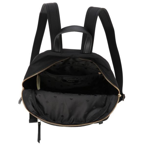 【即納】ケイト スペード Kate spade レディース バックパック・リュック バッグ Dawn Medium Backpack BLACK ロゴ スペード柄裏地|fermart-shoes|03