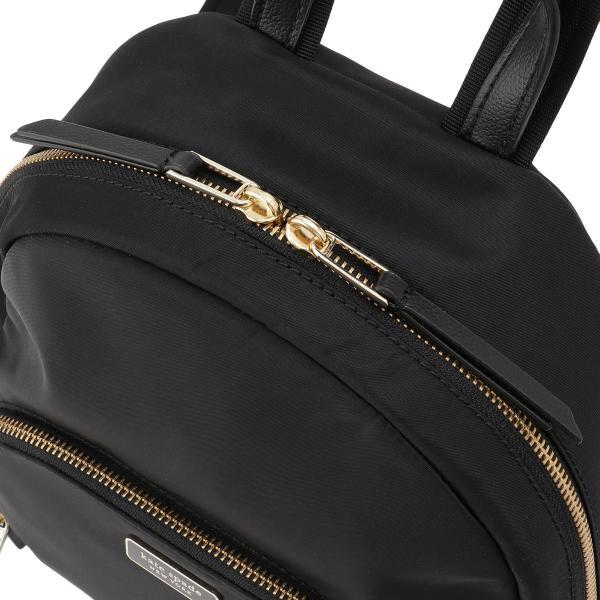 【即納】ケイト スペード Kate spade レディース バックパック・リュック バッグ Dawn Medium Backpack BLACK ロゴ スペード柄裏地|fermart-shoes|07