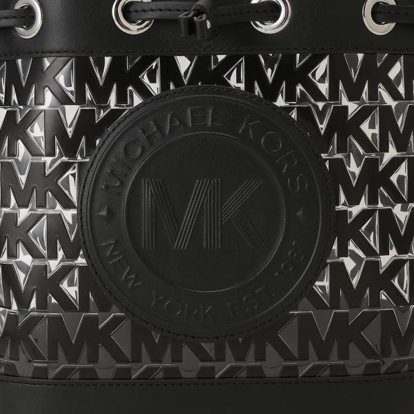 【即納】マイケル コース Michael Kors レディース ショルダーバッグ バッグ FULTON SPORT 35s0sf0m2p BLACK ロゴ バケツバッグ バケットバッグ|fermart-shoes|06