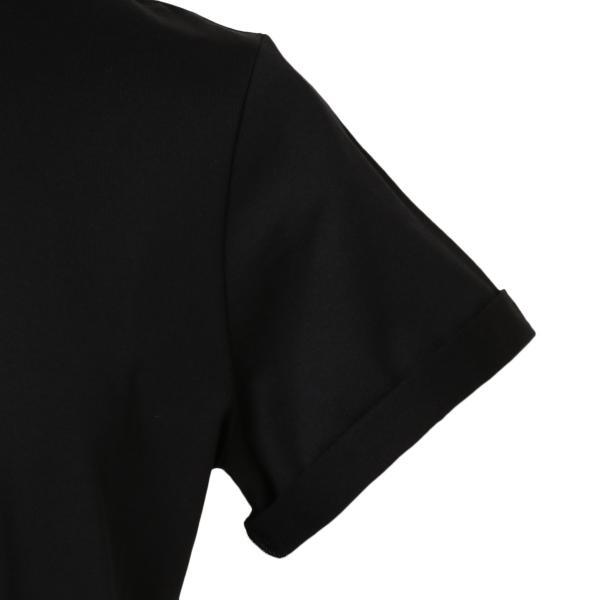 【即納】イヴ サンローラン Saint Laurent メンズ Tシャツ トップス Crew Neck Logo Tee 464572 BLACK クルーネック ロゴプリント fermart-shoes 05