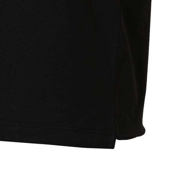【即納】イヴ サンローラン Saint Laurent メンズ Tシャツ トップス Crew Neck Logo Tee 464572 BLACK クルーネック ロゴプリント fermart-shoes 06