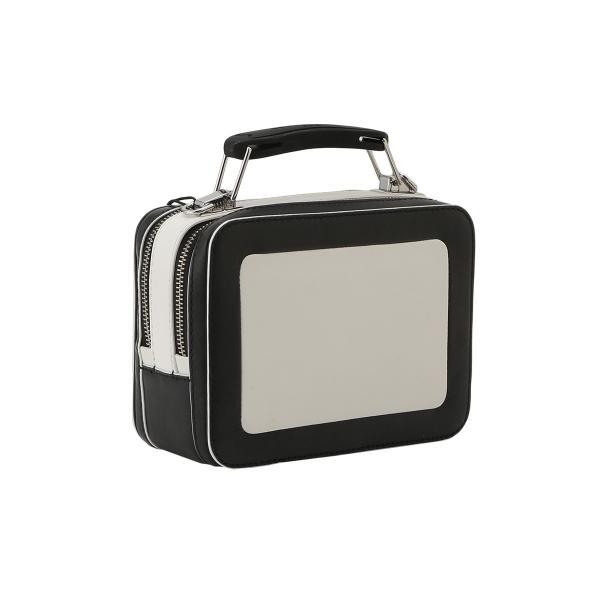 【即納】マーク ジェイコブス Marc Jacobs レディース ショルダーバッグ バッグ THE BOX 20 M0014506 COTTON MULTI ザボックス 2way バイカラー カラーブロック|fermart-shoes|02