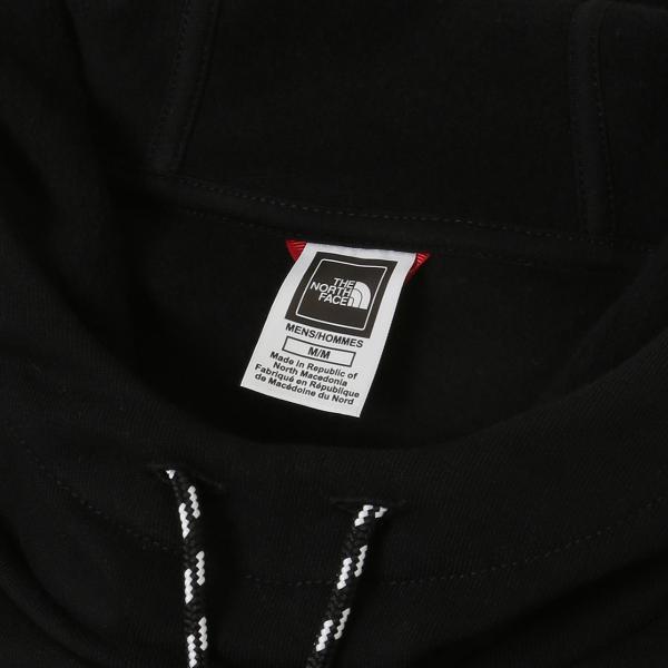 【即納】ザ ノースフェイス The North Face メンズ パーカー トップス Logo Hoodie NF0A3XY3JK31 Black フード フーディ プルオーバー ロゴ|fermart-shoes|03