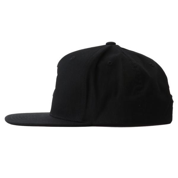 【即納】プリミティブ Primitive ユニセックス キャップ 帽子 CORE DIRTY P SNAPBACK BLACK/WHITE ロゴ スナップバック スナップキャップ|fermart-shoes|03