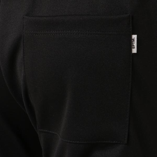 【即納】エピトミ EPTM メンズ スウェット・ジャージ ボトムス・パンツ TRACK PANTS BLACK/RED トラックパンツ 裾ジップ サイドライン|fermart-shoes|06