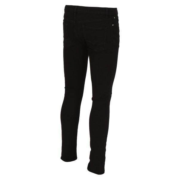 【即納】エイソス ASOS メンズ ジーンズ・デニム ボトムス・パンツ Super Skinny Jeans With Knee Rips Black|fermart-shoes|02