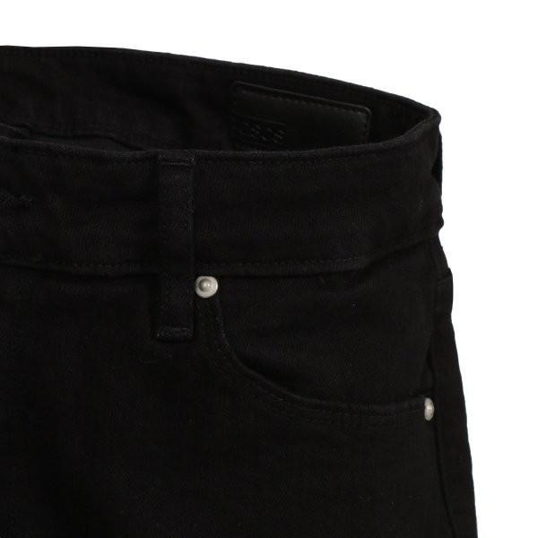 【即納】エイソス ASOS メンズ ジーンズ・デニム ボトムス・パンツ Super Skinny Jeans With Knee Rips Black|fermart-shoes|03