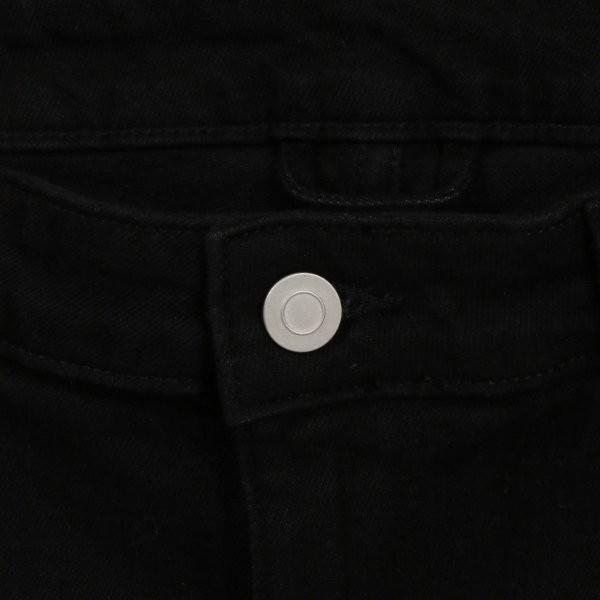 【即納】エイソス ASOS メンズ ジーンズ・デニム ボトムス・パンツ Super Skinny Jeans With Knee Rips Black|fermart-shoes|07
