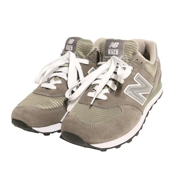 【即納】ニューバランス メンズ スニーカー シューズ・靴 M574GS Grey|fermart-shoes