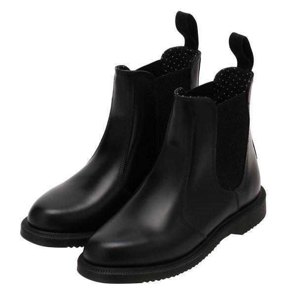 【即納】ドクターマーチン Dr. Martens レディース ブーツ シューズ・靴 FLORA BOOTS BLACK fermart-shoes