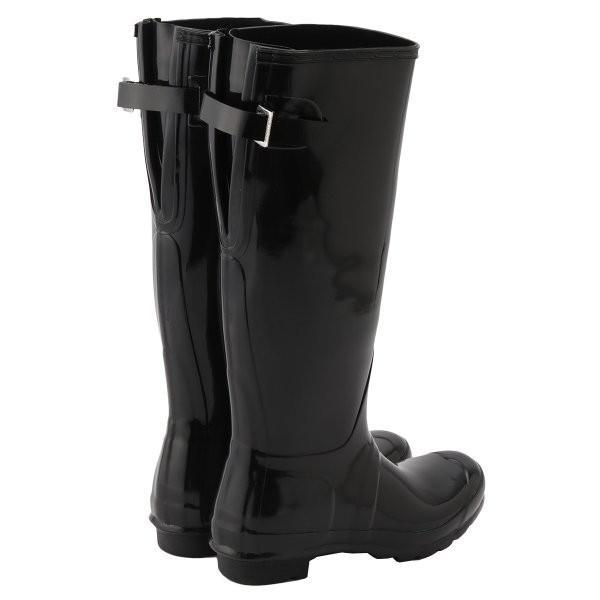 【即納】ハンター HUNTER レディース レインシューズ・長靴 シューズ・靴 WOMENS ORG BACK ADJUST GLOSS BOOTS BLK|fermart-shoes|02