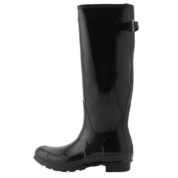 【即納】ハンター HUNTER レディース レインシューズ・長靴 シューズ・靴 WOMENS ORG BACK ADJUST GLOSS BOOTS BLK|fermart-shoes|03