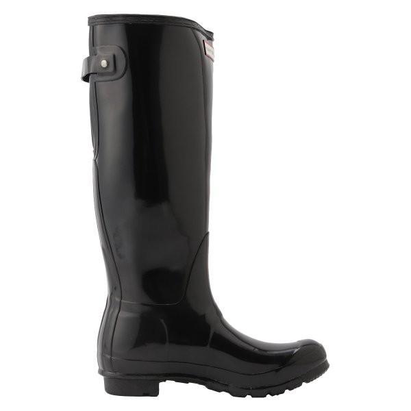 【即納】ハンター HUNTER レディース レインシューズ・長靴 シューズ・靴 WOMENS ORG BACK ADJUST GLOSS BOOTS BLK|fermart-shoes|04