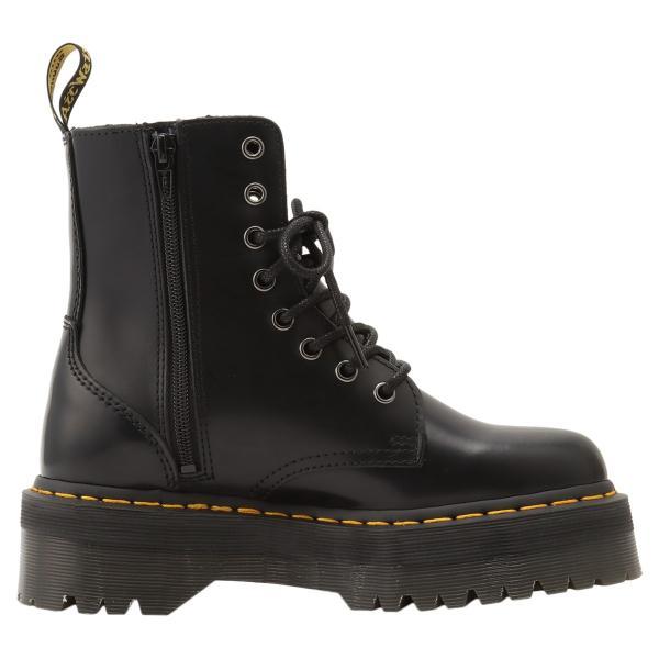 【即納】ドクターマーチン Dr. Martens レディース ブーツ シューズ・靴 Jadon 8 Eye Boots BLACK サイドジップ コンバットブーツ 8ホール|fermart-shoes|04