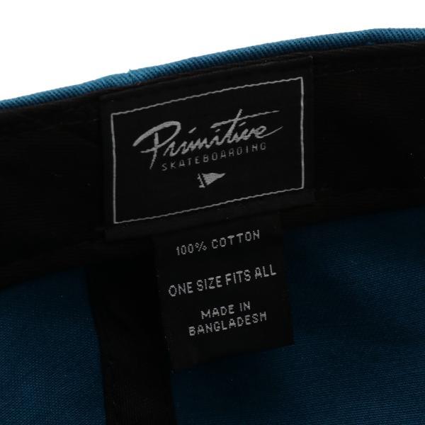 【即納】プリミティブ Primitive ユニセックス キャップ 帽子 MINI DIRTY P DAD HAT HBLU ダッドハット ダッドキャップ ロゴ|fermart-shoes|05