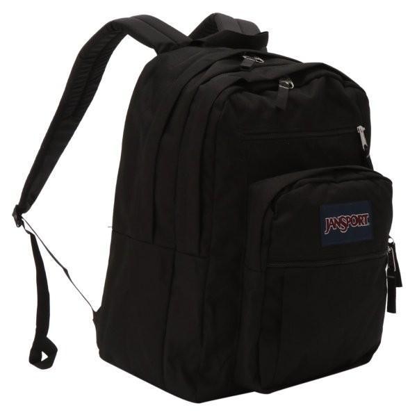 【即納】ジャンスポーツ JANSPORT ユニセックス バックパック・リュック バッグ BIG STUDENT BAG BLACK|fermart-shoes