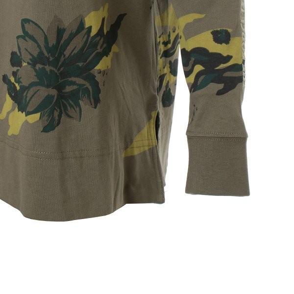 【即納】ナイキ NIKE レディース 長袖Tシャツ トップス ロンT ロングT ロングスリーブ NIKE WOMEN CAMO LS TEE KHAKI|fermart-shoes|06