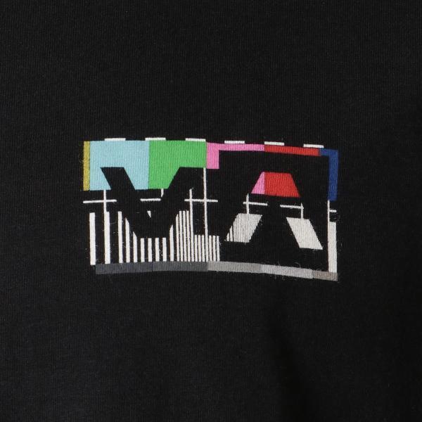 【即納】ルーカ RVCA メンズ 長袖Tシャツ トップス Testing L/S BLACK ロンT ロングT ビッグロゴ バックプリント fermart-shoes 03