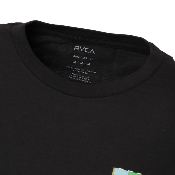 【即納】ルーカ RVCA メンズ 長袖Tシャツ トップス Testing L/S BLACK ロンT ロングT ビッグロゴ バックプリント fermart-shoes 05