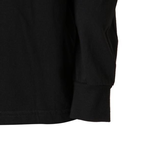 【即納】ルーカ RVCA メンズ 長袖Tシャツ トップス Testing L/S BLACK ロンT ロングT ビッグロゴ バックプリント fermart-shoes 08