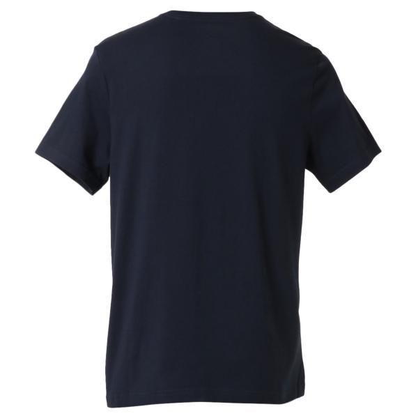 【即納】トミー ヒルフィガー Tommy Hilfiger メンズ Tシャツ トップス CREW NECK TEE DARK NAVY ロゴ クルーネック|fermart-shoes|02