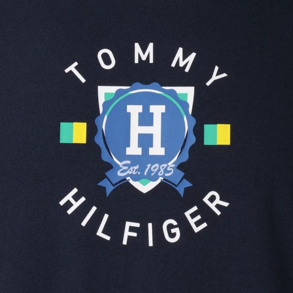 【即納】トミー ヒルフィガー Tommy Hilfiger メンズ Tシャツ トップス CREW NECK TEE DARK NAVY ロゴ クルーネック|fermart-shoes|03