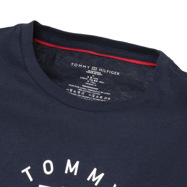 【即納】トミー ヒルフィガー Tommy Hilfiger メンズ Tシャツ トップス CREW NECK TEE DARK NAVY ロゴ クルーネック|fermart-shoes|04