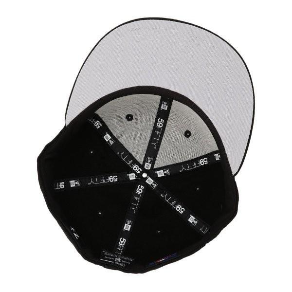 【即納】ニューエラ New Era メンズ キャップ 帽子 MLB BASIC 5950 NEYYAN BLKWHI Hat BLKWHI|fermart-shoes|05