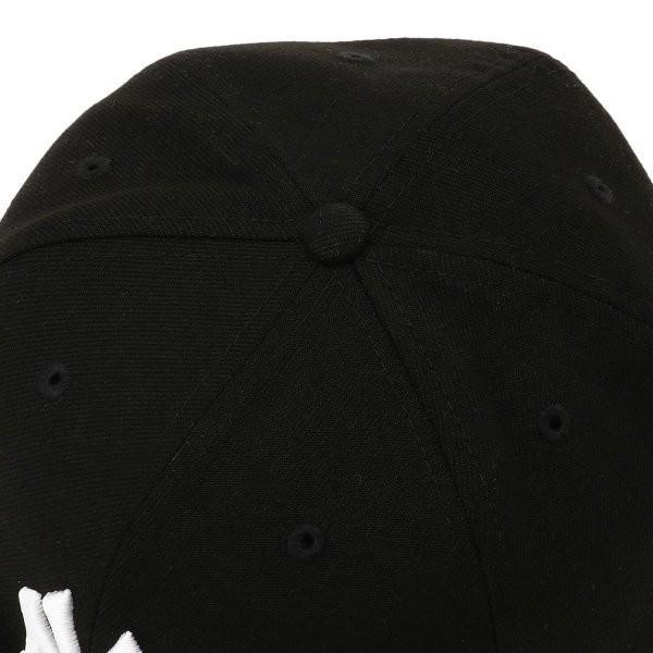【即納】ニューエラ New Era メンズ キャップ 帽子 MLB BASIC 5950 NEYYAN BLKWHI Hat BLKWHI|fermart-shoes|06