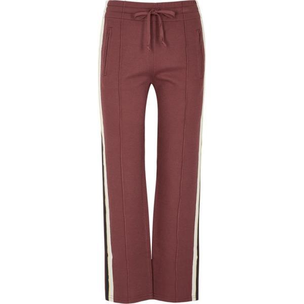 イザベル マラン Isabel Marant Etoile レディース スウェット?ジャージ ボトムス?パンツ Dobbs Striped Stretch-Knit Sweatpants Pink fermart2-store 01
