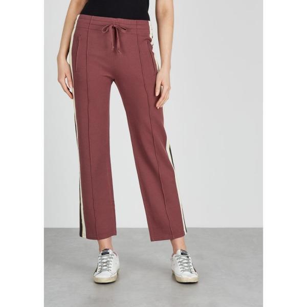 イザベル マラン Isabel Marant Etoile レディース スウェット?ジャージ ボトムス?パンツ Dobbs Striped Stretch-Knit Sweatpants Pink fermart2-store 02