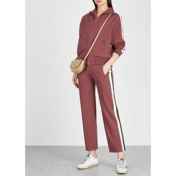 イザベル マラン Isabel Marant Etoile レディース スウェット?ジャージ ボトムス?パンツ Dobbs Striped Stretch-Knit Sweatpants Pink fermart2-store 04