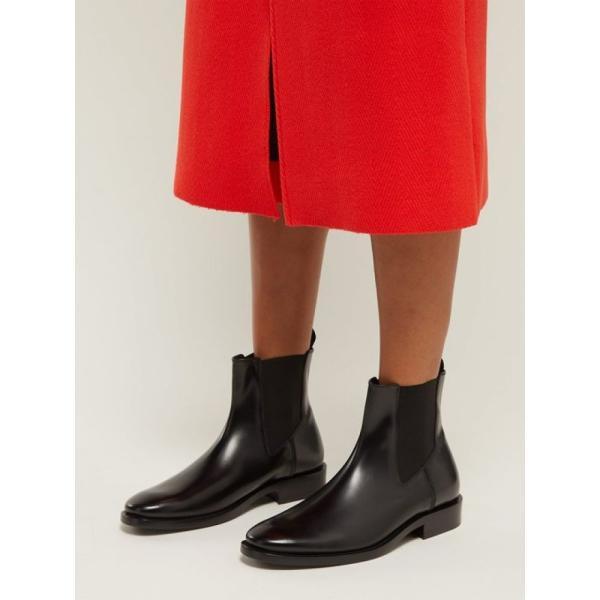 バレンシアガ Balenciaga レディース ブーツ シューズ・靴 Evening leather chelsea boots Black
