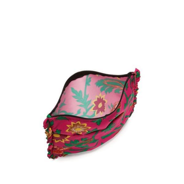 ラダブルジェー La DoubleJ レディース クラッチバッグ バッグ Dragon Flower-printed clutch Pink