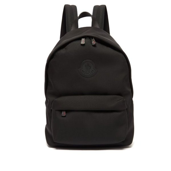 7d30670aac74 モンクレール Moncler メンズ バックパック・リュック バッグ Pierrick logo-patch technical backpack  Blackの
