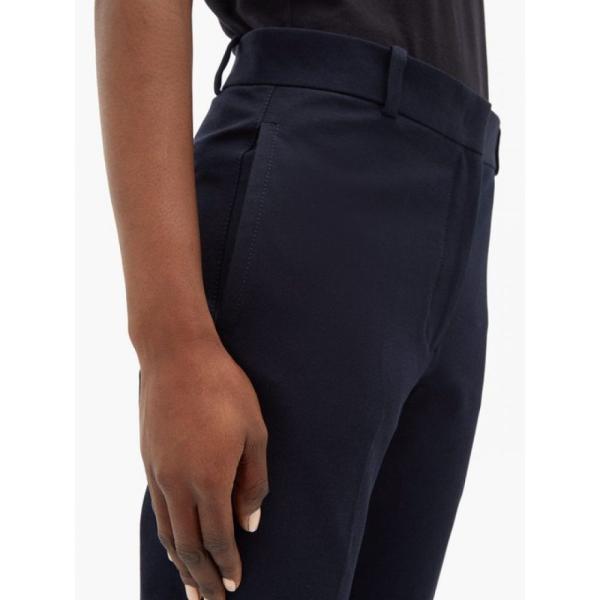 ジョゼフ Joseph レディース スキニー・スリム ボトムス・パンツ Zoom stretch-twill slim-leg trousers navy