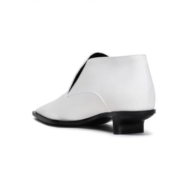 ステラ マッカートニー STELLA McCARTNEY レディース ブーツ シューズ・靴 Faux leather ankle boots White