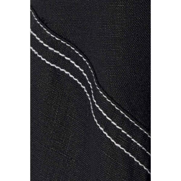ペーパーロンドン PAPER London レディース ワンピース ミドル丈 ワンピース・ドレス Ricki Baker knotted linen midi dress Black
